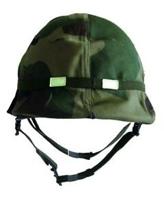 Set US Helm M1 mit Innenhelm gebraucht + Bezug + Cat Eye Schutzhelm