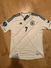 Adidas DFB National Team 2012 Germany X20656 Schweinsteiger Euro 2012 White