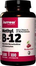 Jarrow Methyl B-12 500 µg, Vitamin B12, Kirschgeschmack, hochdosiert, vegan