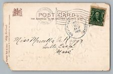 South Essex Massachusetts 1906 Type 2/5 Doane Cancel Dpo Postcard