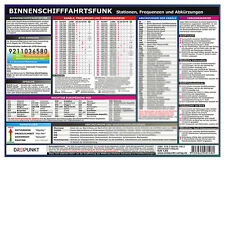 1 - Info-Tafel DIN A4 Erste Hilfe an Bord laminiert # Notfall 9783864481413