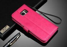 Fundas y carcasas lisos Para Samsung Galaxy S7 color principal rosa para teléfonos móviles y PDAs