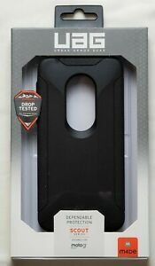 UAG Urban Armor Gear Scout Series Case Fits Motorola Moto G7 Play - Black