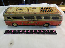 RARE VINTAGE SONICON  BUS WITH COOL BLUE TINTED WINDOWS--SOLD AS IS
