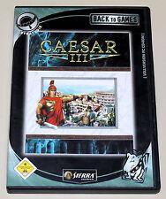 Caesar III 3-PC CD ROM en DVD funda-construcción simulación clásico