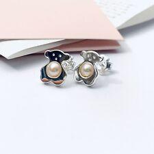 612593500 TOUS Silver Sweet Dolls Pearl Earrings