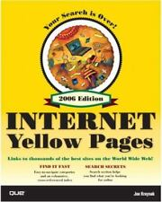 Que's Official Internet Yellow Pages, 2006 Edition-ExLibrary