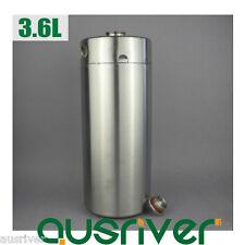 304 Stainless Steel 3.6L Beer Keg Mini Growler Homebrew Wine Brewing Xmas Gift