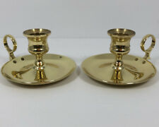 """New ListingBaldwin Brass Candle Holders Classic Traditional Festive for 1.75"""" Candles"""