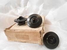 neuer Bakelit Drehschalter Schalter Lichtschalter UP Unterputz schwarz Steckdose