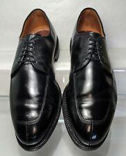 Allen Edmonds Delray Split Toe Derby Men's Black Dress Shoes Sz 9.5 3E