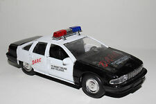 ROAD CHAMPS POLICE, D.A.R.E. RESIST DRUGS POLICE CHEVY CAPRICE CRUISER, 1:43