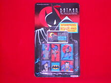 1992 Batman the Animated Series Stampers And Stamp Pad Collection Noteworthy