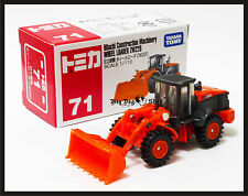 TOMICA 71 HITACHI CONSTRUCTION MACHINERY WHEEL LOADER ZW220 TOMY 1/110 NEW