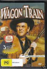 WAGON TRAIN -  DVD - 3  ADVENTUROUS EPISODES - NEW