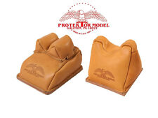 PROTEKTOR MODEL - NEW RIFLE REST SHOOTING SET OF 14A REAR & #7AF FRONT BAGS