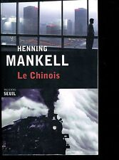 HENNING MANKELL / LE CHINOIS. Ed originale Gr Format