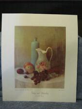 Today & Yesterday Print- Cody Bentley- 1968- USA- Litho