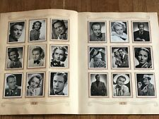 Album Figurine FILM FAVORITI 1940 COMPLETE sticker star movie card pelicula ciak