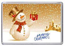 Merry Christmas Xmas Fridge Magnet 01