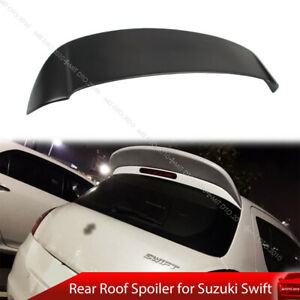 Paint Rear Roof Spoiler Fit For Suzuki Swift 3rd AZG 11-17 5D S Style