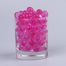 perles d'eau,billes de gel, hydrogel ,décoration  vase,(10 sachets) fuchsia .
