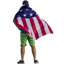 USA Flag Cape Stars & Stripes 4th of July