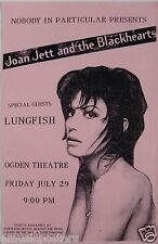 JOAN JETT & THE BLACKHEARTS / LUNGFISH 1994 DENVER CONCERT POSTER - The Runaways