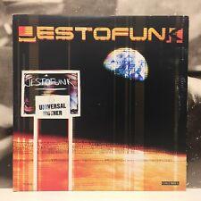 """JESTOFUNK - UNIVERSAL MOTHER 3 X 12"""" ALBUM LP 1998 ITALY COLUMBIA COL 489991-1"""