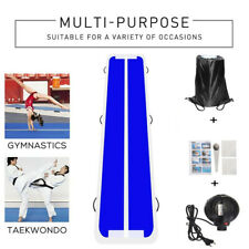 20Ft Inflatable Gymnastic Tumbling Mat Air Track Floor Gym Mat Electric Pump NY