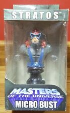 """2004 NECA Masters of the Universe 4"""" Stratos MICRO BUST"""