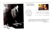 First day of issue envelope 1997 Raoul Wallenberg Swedish Diplomat