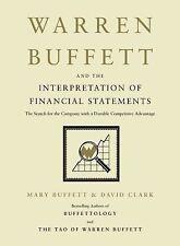 NEW WARREN BUFFETT The Interpretation of Financial Statements Book BUFFET CLARK