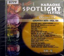 Sound Choice Karaoke CDG - SC8779  Vol. 155   Country Hits
