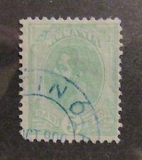 Romania  Scott #121a  Θ used, fine + 102 card