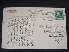 "Battle Creek, Michigan, cancellation on postcard ""Easter Greetings"""