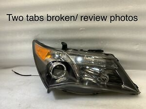 2007 2008 2009 Acura MDX OEM Headlight Right Passenger Side RH Xenon HID