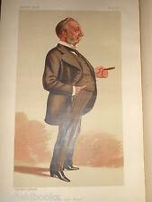 Originale VITTORIANA VANITY FAIR stampa-polydore De Keyser, Londra sindaco - 1887