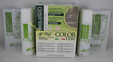 Naturerbe COLOR ERBE bio Tinta TINTURA biologica capelli 60ml colore 20 PLATINO