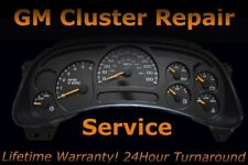 GMC GM Chevy Buick Pontiac Speedometer Instrument Cluster FULL Repair Service