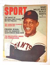 Jun 1965 SPORT Magazine- Willie Mays Cover & Article (E1237)