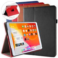 """360 drehbar Schutz Hülle iPad 2019 10.2"""" Smart PU Leder Cover Case Ständer Folie"""