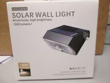 Solar Light / Outdoor /1000 Lumen Bright / Motion Sensor / 3 Light Settings