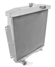 """1954-1956 Ford Country Squire Aluminum 3 Row Champion Radiator & 16"""" Fan"""