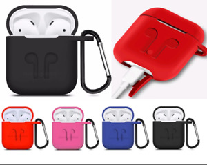 Airpod Silicone Carrabena Keychain case holder Cover For Apple Airpods