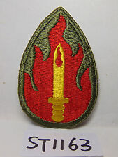 VINTAGE US MILITARY PATCH ARMY-USAF AIR FORCE GOLD KNIFE-RED GREEN FLAMES