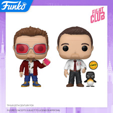 Funko Pop! Movies: Fight Club Tyler Durden and Buddy Vinyl Figure In Stock