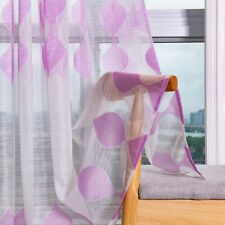 1 Pc Bedroom Curtains Curtains Voile Home Decor Living Room Clear Transparent