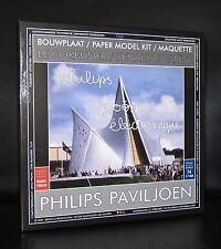Le Corbusier # PHILIPS POEME ELECTRIQUE , 1958 Pavillion# Paper Model kit, 2009
