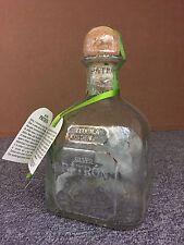 Patrón Tequila 0,75l show Bottle Empty Sealed Deco Shisha Hookah Lamp New